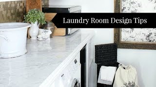 How to Design a Laundry Room