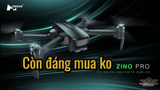 Đánh giá ưu, khuyết điểm flycam hubsan zino pro+ còn nên mua ở thời điểm hiện tại (KHA TRẦN Vlog)