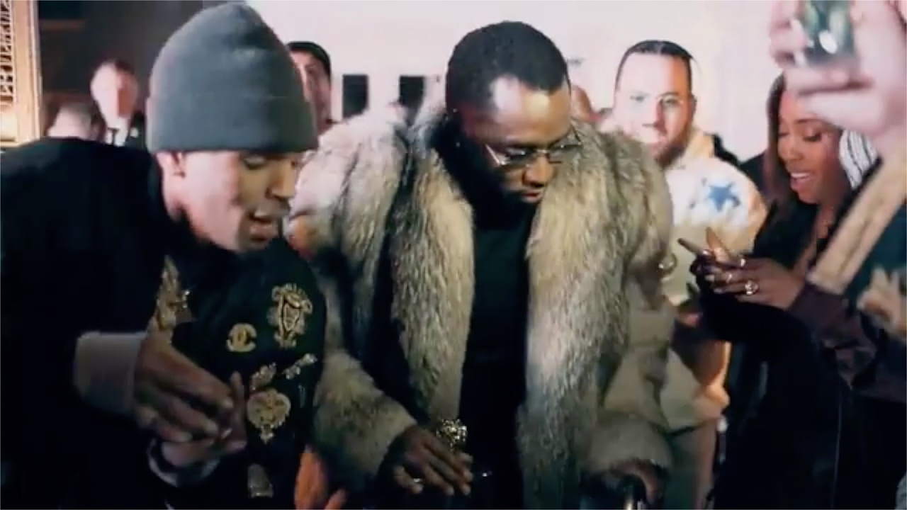 p diddy throws a lit party on superbowl night at his mansion with