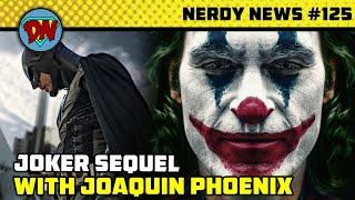 Chris Hemsworth Future in MCU, Joker Sequel, DC Fandome, Black Widow Delayed | Nerdy News #125 Thumb