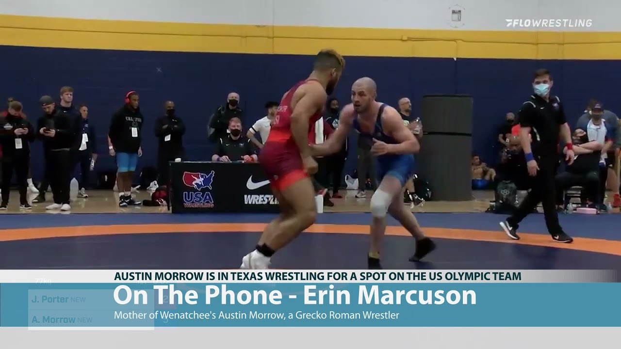 Austin Morrow Wrestling for Olympics 2021-04-02