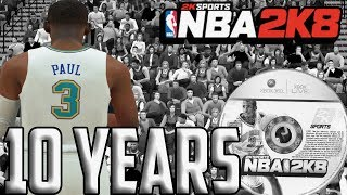NBA 2K8 10 Years Later...
