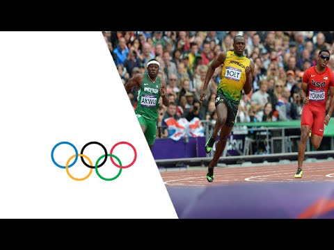 Bolt, Blake, Weir, Quinonez & Lemaitre Win 200m Heats - London 2012 Olympics