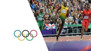 Bolt, Blake, Weir, Quinonez & Lemaitre Win 200m Heats - London 2012 Olympics
