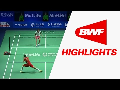 Thaihot China Open 2016 | Badminton F – Highlights