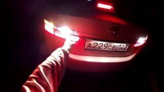 Toyota Corolla - ночной обзор