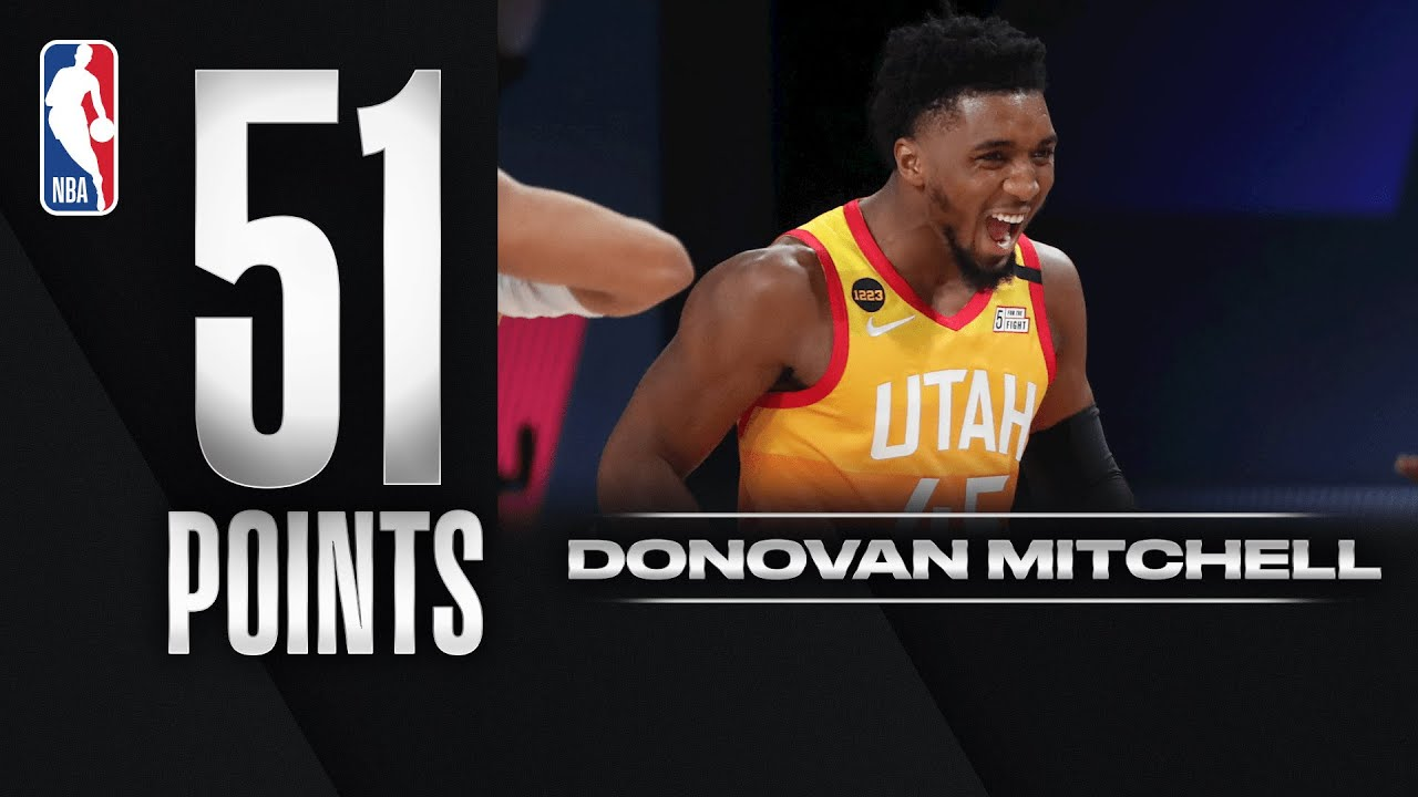 Donovan Mitchell Drops His SECOND 50+ Point Game Of The Series!