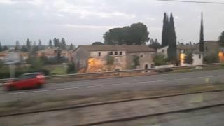 Trajecte Tren Girona-Celrà