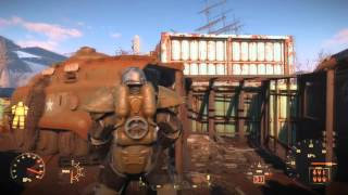 FALLOUT 4 - HOW TO FIND T-51B POWER ARMOUR - FULL SET