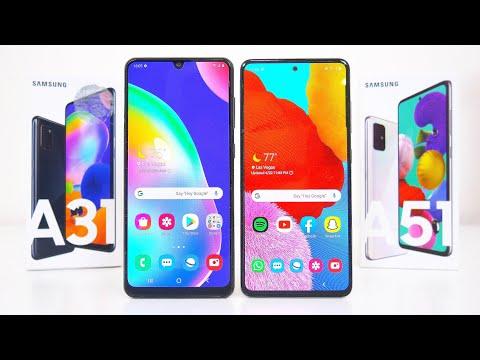 Samsung Galaxy A31 vs. Samsug Galaxy A51 Comparison! Which One Is Better?