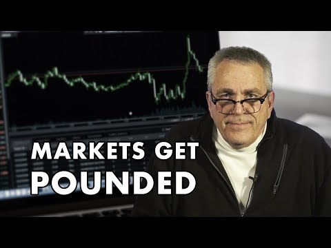 Markets See Crazy Action & Get Pounded
