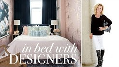 Inside Designers' Bedrooms: A Glamorous & Bright Retreat