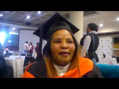 Khethiwe khethy Sibiya   Gert SIbande TVET Collage Graduation Of the Disabled Students