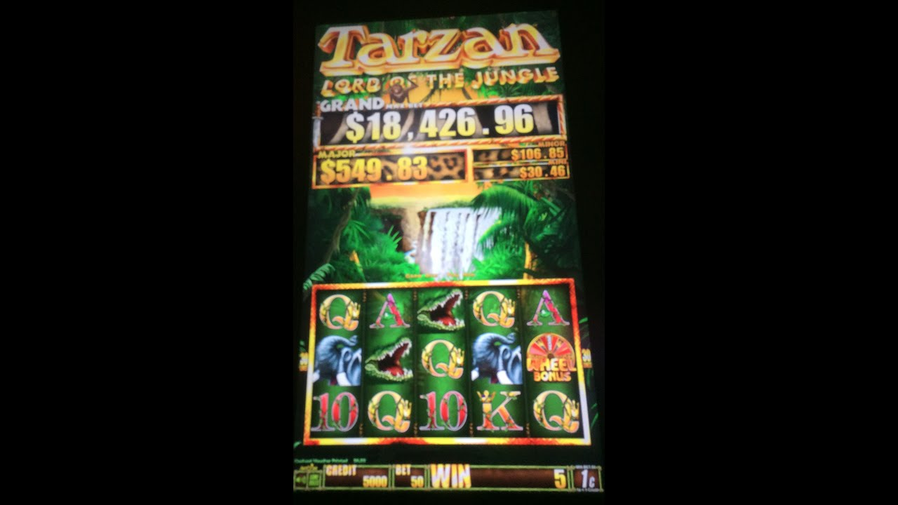 Tarzan Lord Of The Jungle Slot Machine