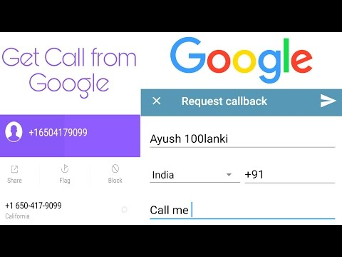 How To Call Google ? Solved