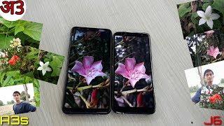 Galaxy J6 vs OPPO A3s Camera Comparison