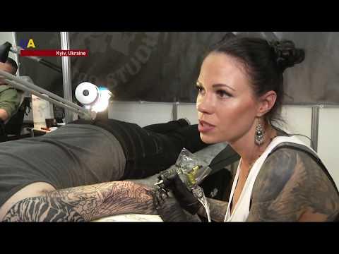 Ukrainians Develop a Love for Tattoo Ink