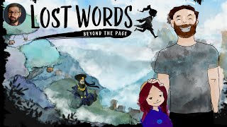 Lost Words: Beyond the page review | Story focused 2d platformer (Video Game Video Review)