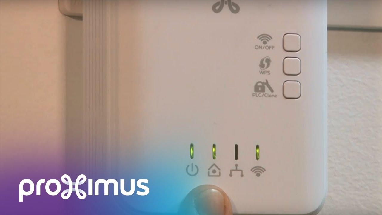 Lampjes Van Je Plc Adapter Wi Fi Extender Met 4 Lampjes Nakijken Youtube