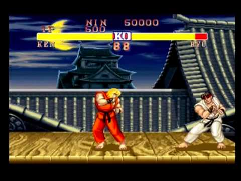 Ryu S Stage Street Fighter Ii Champion Edition Playstation
