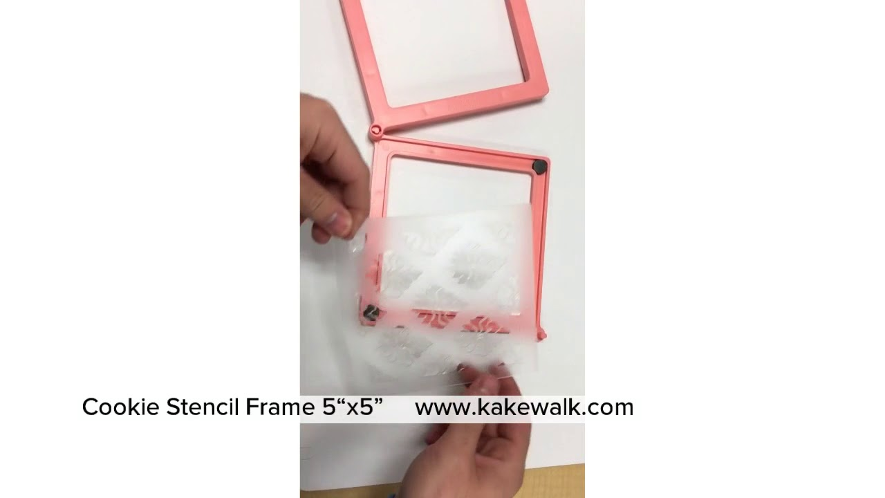 cookie stencil frame