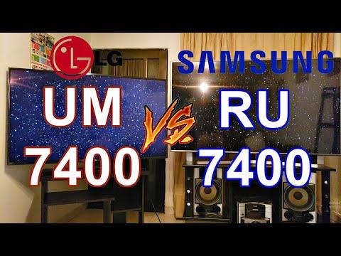 LG UM7400 vs Samsung RU7400: Comparativa de especificaciones técnicas, opiniones y review 2020