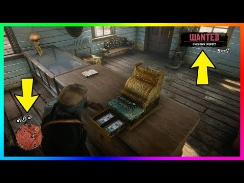 Red Dead Redemption 2 - How To Successfully Rob Stores Without Getting Caught 100% Of The Time!