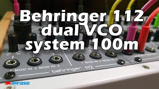 Behringer 112 Dual VCO Overview
