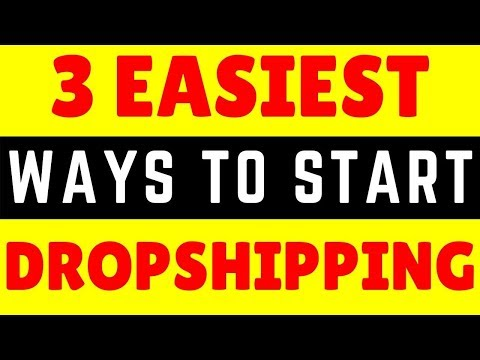 Easiest Way To Start Shopify Dropshipping | Shopify Tutorial thumbnail