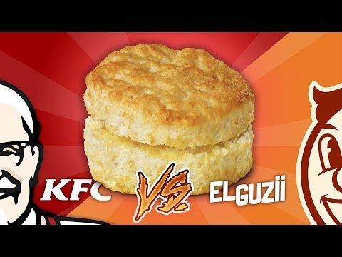 BISQUETS KFC vs HECHOS EN CASA   EL GUZII   #CocinaLab