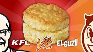BISQUETS KFC vs HECHOS EN CASA | EL GUZII | #CocinaLab