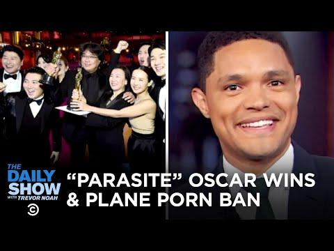 The Oscars, Coronavirus Updates & United's Plane Porn Ban   The Daily Show