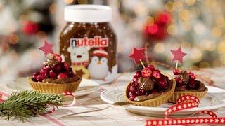Tartaletki pełnoziarniste z owocami i kremem Nutella® [Nutella® ]