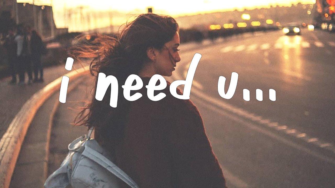 yaeow - I Need U (Lyrics)