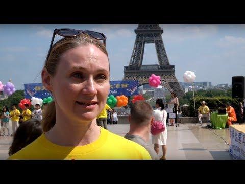 Pháp Luân Công trên thế giới: Chia sẻ của người dân Pháp