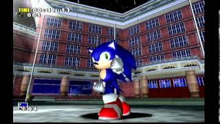 Sonic Adventure (Dreamcast) Gameplay (Sonic