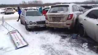 6 авто пострадало в ДТП рядом с Кольцовским трактом