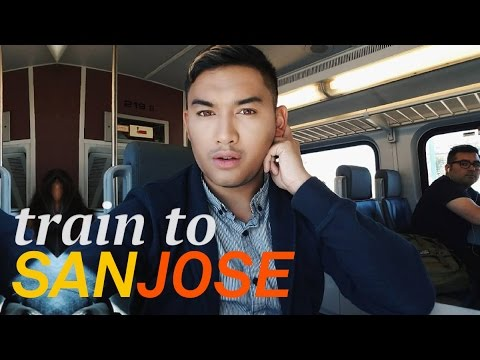 San Francisco train to San Jose - ohitsROME vlogs
