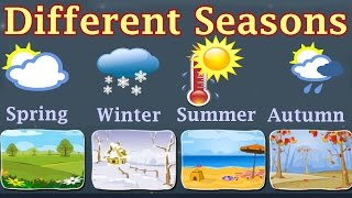Weather, Different Seasons, Learn About Autumn, Winter, Spring, Summer, Preschool Activity(Tony, the Weather reporter, tells you how to use a thermometer and predict weather conditions during a season. Recommended for Grades: K. Kids Educ ..., 2014-07-29T16:54:47.000Z)