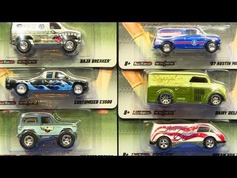 2012 Hot Wheels Nostalgia Nose Art Diecast Cars by Mattel (D-Case)