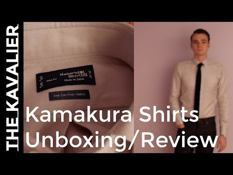 Japanese Dress Shirt Maker Kamakura Shirts Unboxing And Review