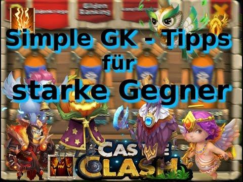 Castle Clash - Simple Tipps Im Gildekrieg Gegen HighEndSpieler