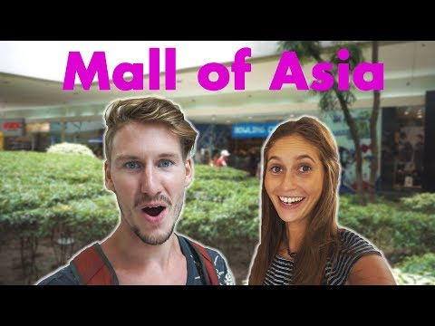 Foreigners reaction to INSANE FILIPINO MALL | Manila, Philippines - Vlog #77