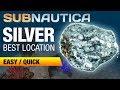 Where to find Silver Ore | SUBNAUTICA 2018