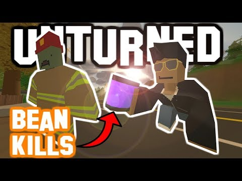 How To Get CANNED BEAN KILLS! Unturned Changing The Code!