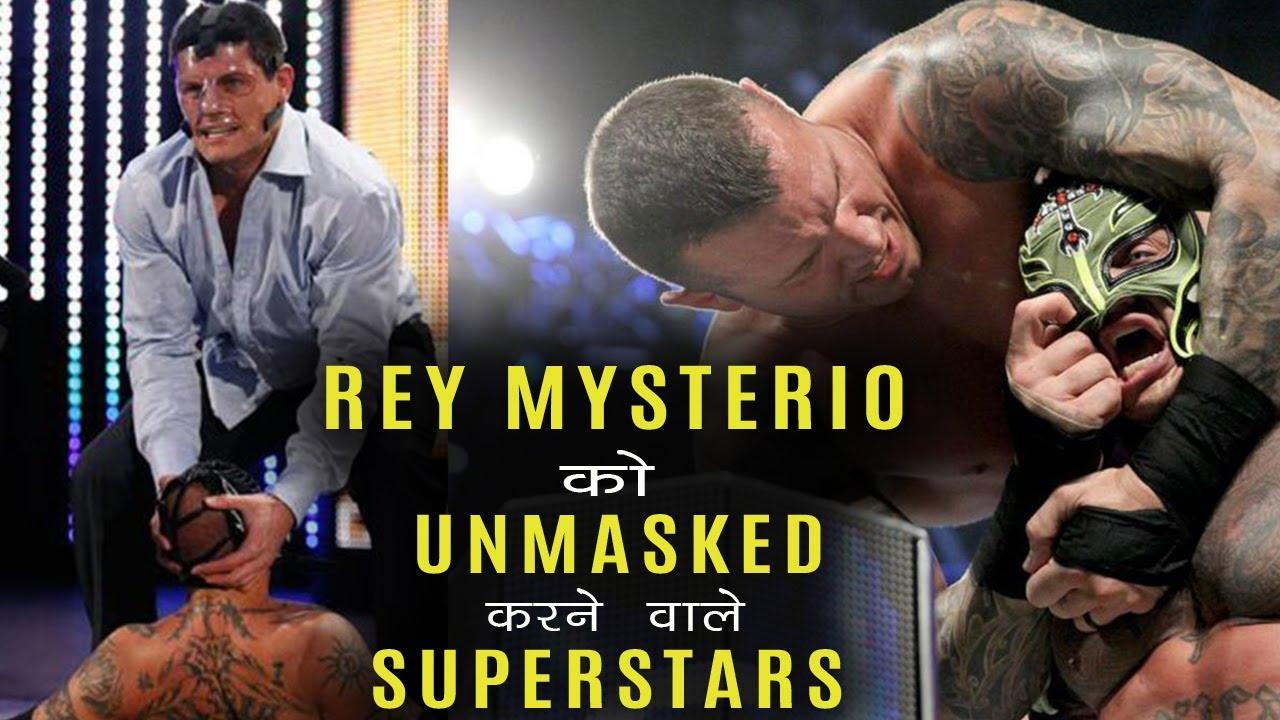 Rey MySterio को Unmasked करने वाले Superstars की List ...