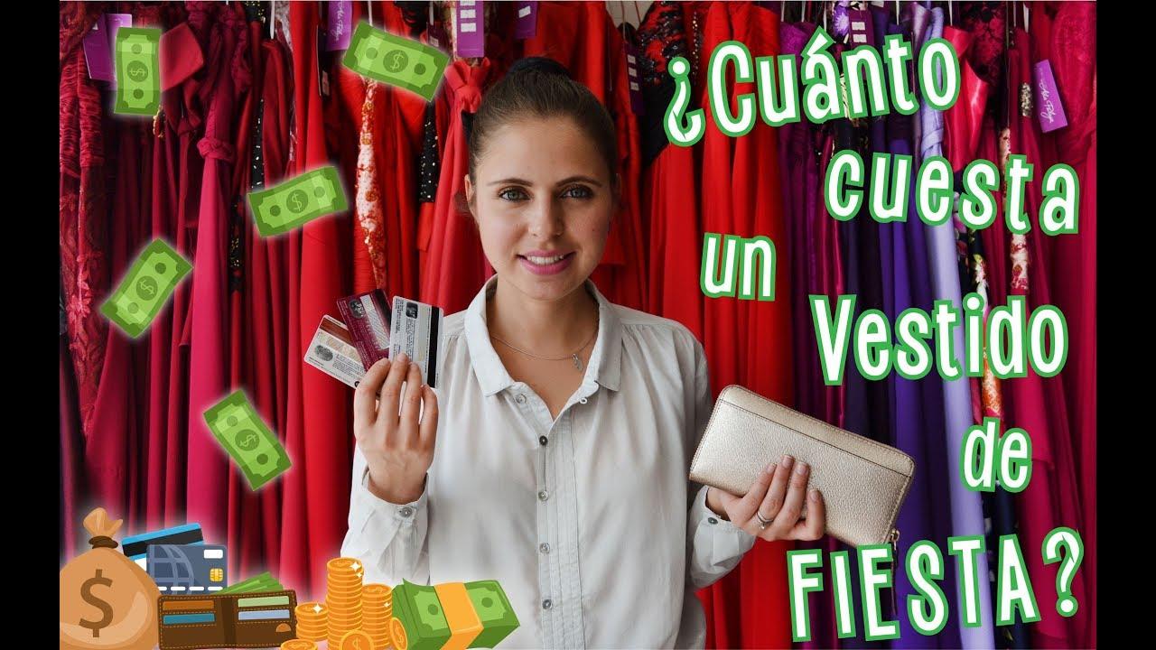 8ee2caa377 Cuánto cuesta un vestido de fiesta  - Ada Pelayo - YouTube