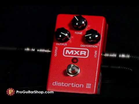 mxr distortion iii pedal youtube. Black Bedroom Furniture Sets. Home Design Ideas