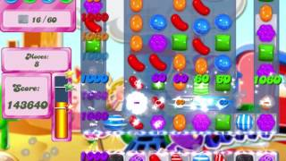 Candy Crush Saga Level 451 Clear all the Jelly!