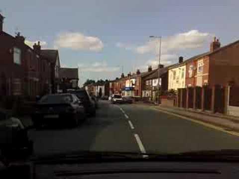 police chase haydock ,st helens